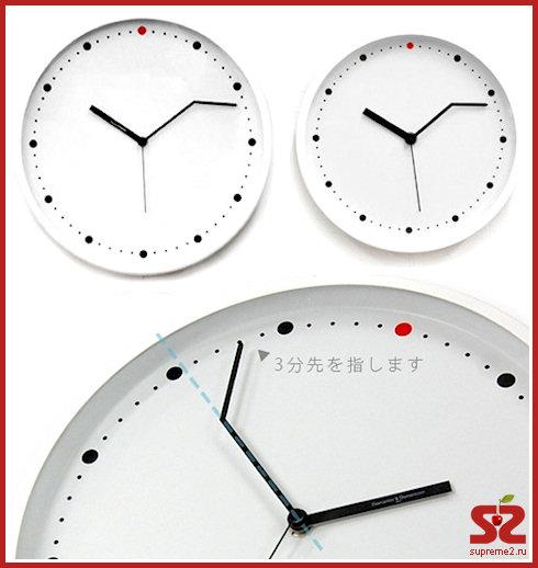 Часы, опережающие время