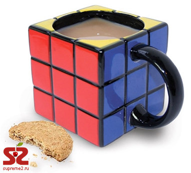 Необычная кружка Rubik's Cube Mug