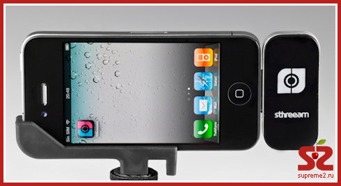 3D-камера из iPhone, используя Sthreeam