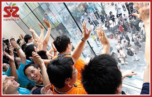 В Китае закрыли два поддельных AppleStore