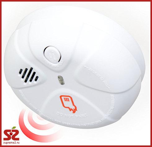 Домашняя пожарная сигнализация с SMS-уведомлением