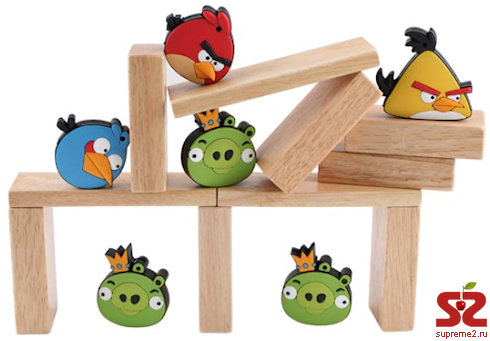 Флешки Angry Birds