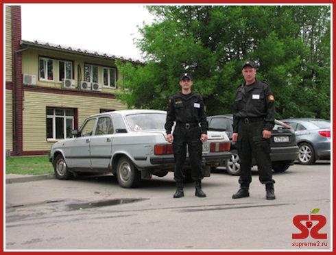Охранные услуги от ЧОП