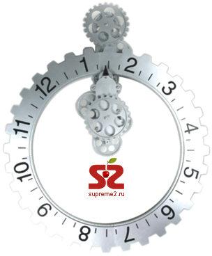 Invotis Wall Gear Clock — настенные часы в виде шестеренки