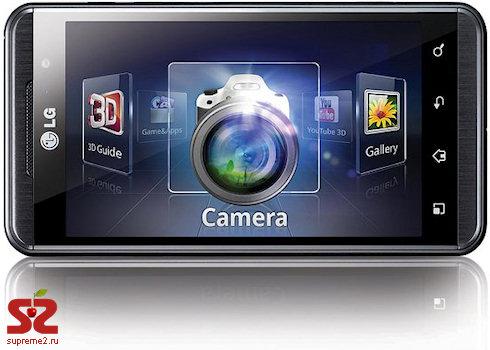 LG Optimus 3D — настоящий 3D-смартфон