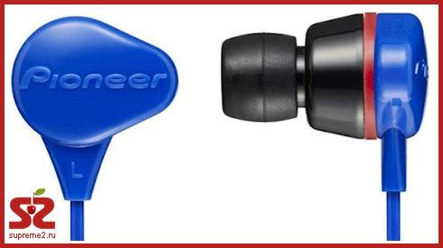 Pioneer SE-CL331 - наушники, которые не боятся воды