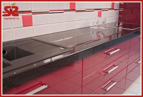 Кухонные столешницы от Plaza Stone