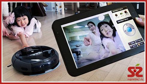 Робот-пылесос Samsung VC-RL87W