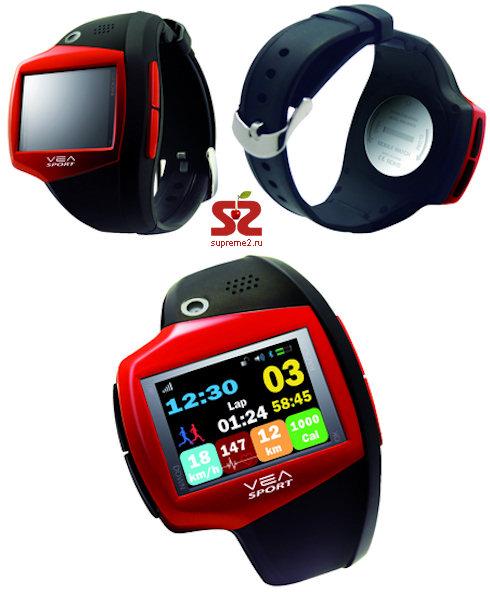 Часы VEA Sportive позаботятся о Вашем здоровье