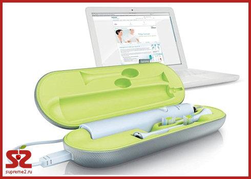 Зубная щетка с зарядкой от USB