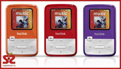 SanDisk Sansa Clip Zip