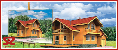 Деревянные дома от ЯРСОВТЕХ