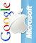 Google, Apple, Microsoft — самые дорогие компании мира