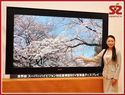 Телевизор Sharp с разрешением Ultra HD