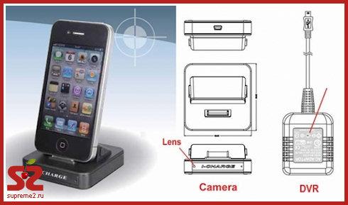 iCharge — зарядное устройство со скрытой камерой