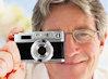 Ретро-камера Leather Retro Digital Camera