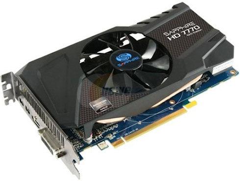AMD Radeon HD 7770 GHz Edition