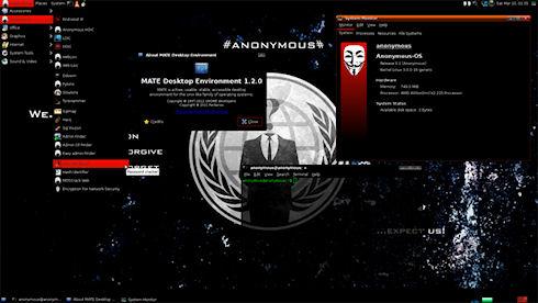 Операционная система от Anonymous
