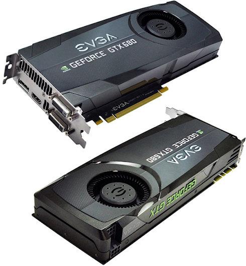 Новые EVGA GeForce GTX 680 Superclocked уже в продаже