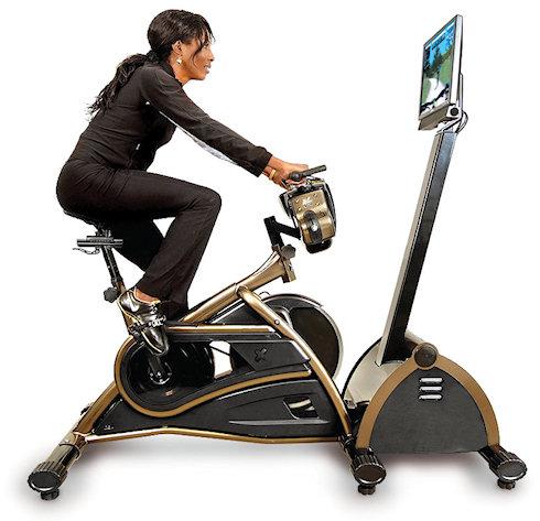 Горный велосипед у вас в квартире