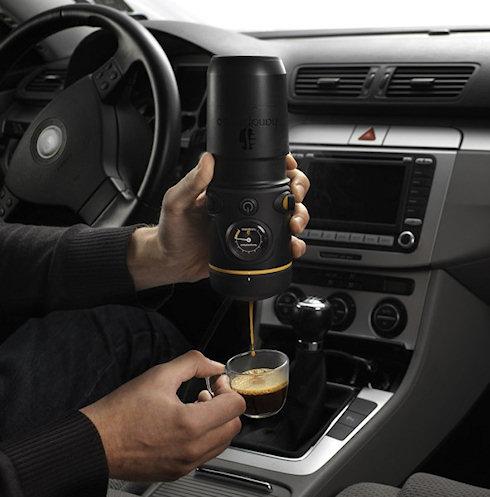 Handpresso Mobile: кофе в… машину!