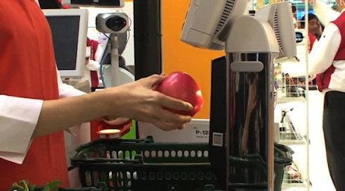Сканер для фруктов