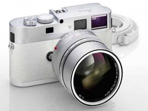 Белая Leica M9-P бьет рекорды цен