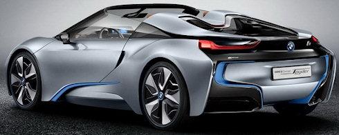 Гибридный родстер - BMW i8 Spyder