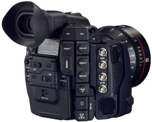 Новая кинокамера Canon Cinema EOS C500