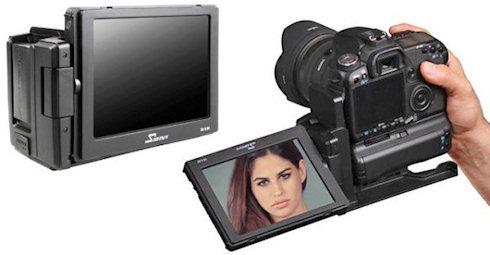 Canon EOS 5D Mark III: два дисплея, кто больше?