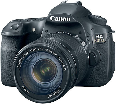 Canon EOS 60Da: звезды становятся ближе