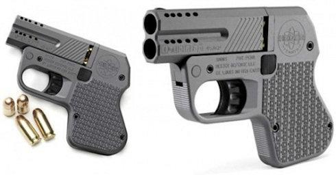 Самый маленький пистолет 45 калибра