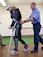 Клэр Ломас  — первая женщина-марафонец с экзоскелетом