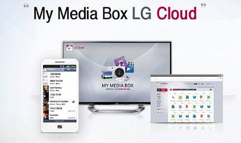 LG Cloud — новый облачный сервис от LG