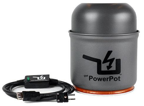 PowerPot: варит и генерирует электричество