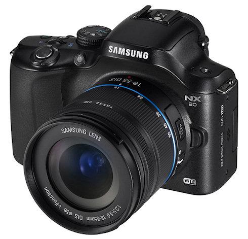 Новые камеры Samsung NX с поддержкой Wi-Fi