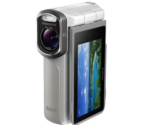 Sony Handycam HDR-GW77V: миникамера с влагозащитой