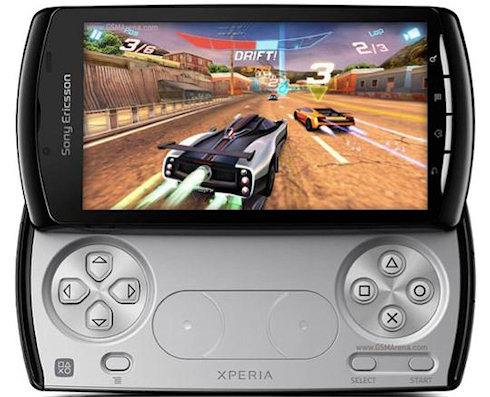 Сверхзвуковой смартфон Sony Xperia PLAY HD