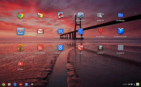 Трансформация Chrome OS