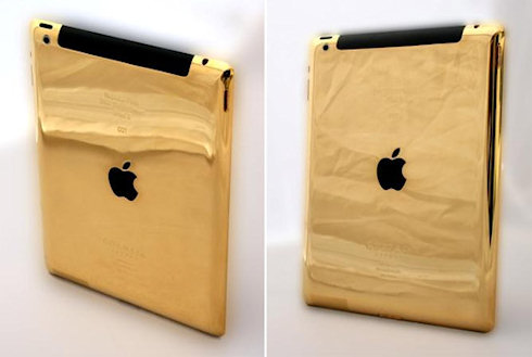 Золотые iPad 3