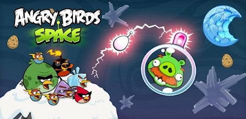 Angry Birds Space самая скачиваемая игра в мире!