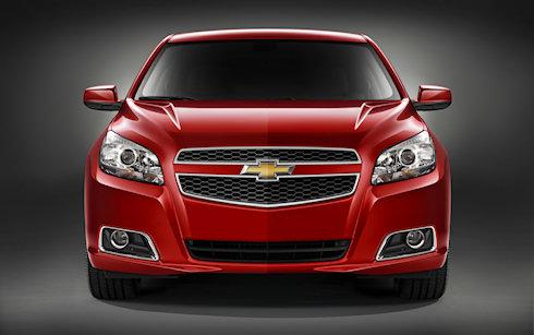 Chevrolet Malibu/седан 2012