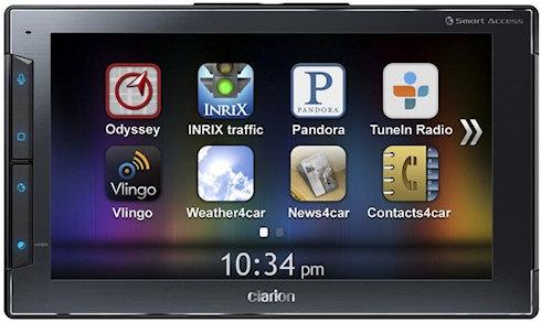 Clarion Next Gate для iOS-устройств