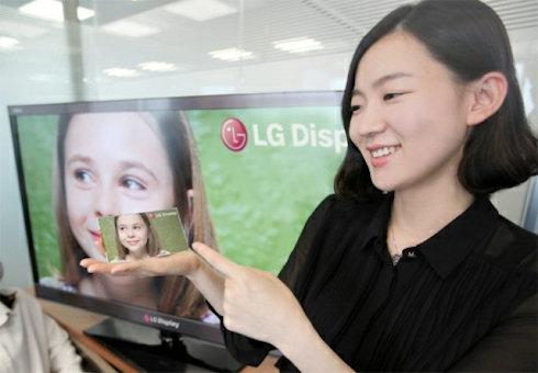 Уникальный дисплей LG для мобильных устройств