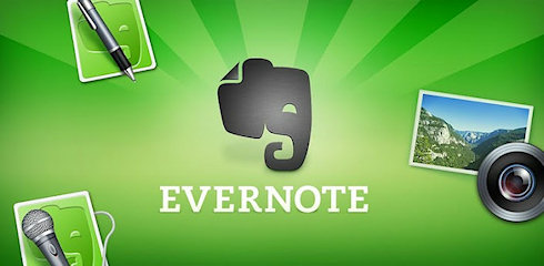 Новый дизайн Evernote для Android