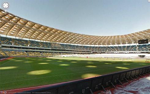 Панорамы стадионов Евро-2012