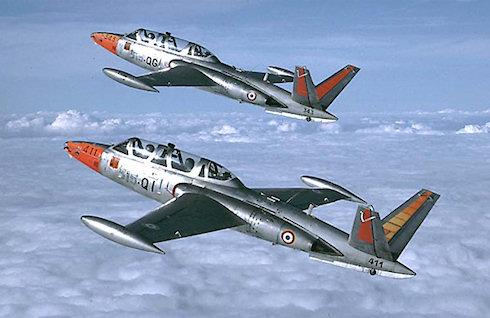 Fouga CM.170 Magister — первый реактивный учебный самолет