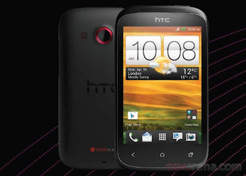 Первые фото смартфона HTC Desire C на Android 4.0