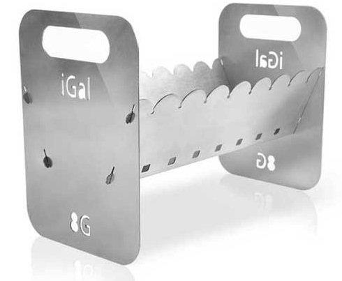 iGal - «яблочный» мангал