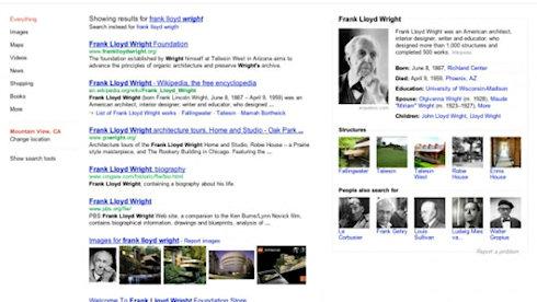 Новый раздел в поисковой выдаче Google